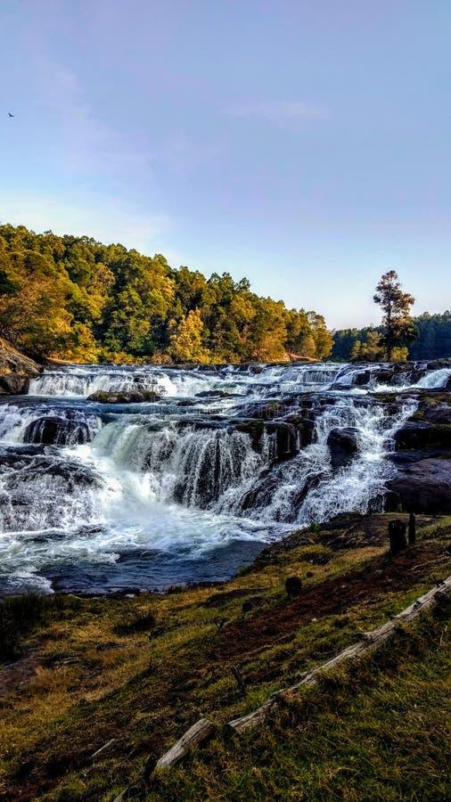 Cascata Tamil Nadu ooty India di Pyakra immagini stock