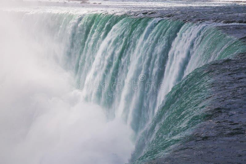 Cascate del Niagara massiccio in Ontario, Canada fotografia stock libera da diritti