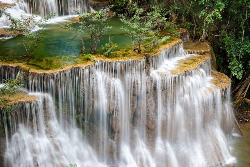 Download Cascate Dell'Asia, Huai Mae Khamin Fotografia Stock - Immagine di stagno, parco: 56886872