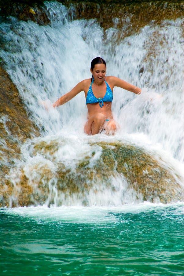 Cascate della Giamaica immagini stock libere da diritti