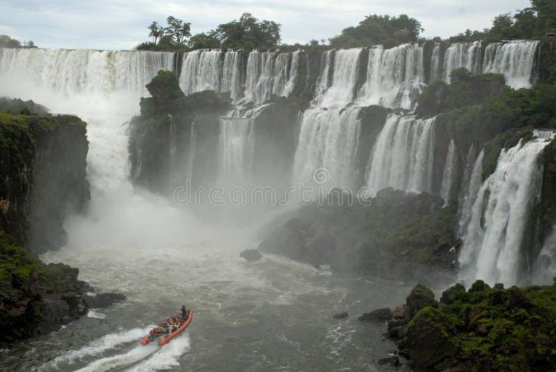 Cascate di Iguazu - Argentina immagini stock libere da diritti