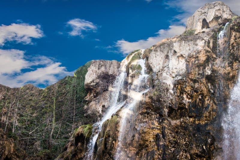 Cascate di Plitvice in Croazia fotografie stock libere da diritti