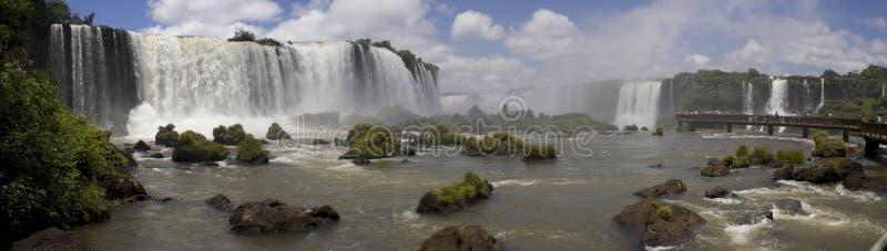 Cascate Iguassu imagem de stock royalty free