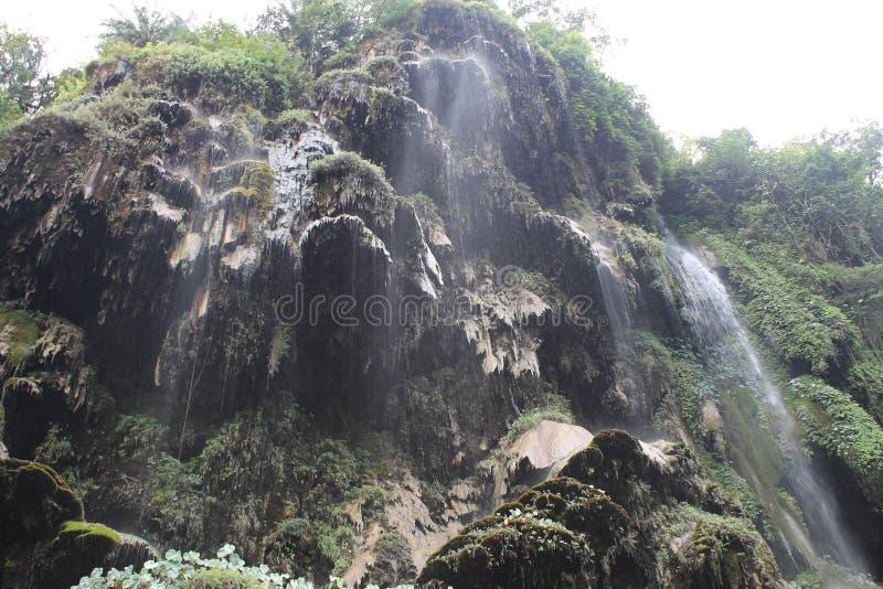 Cascate in Rishikesh fotografia stock