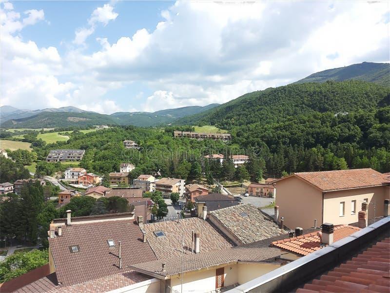 Cascia Umbria, Italien royaltyfri bild