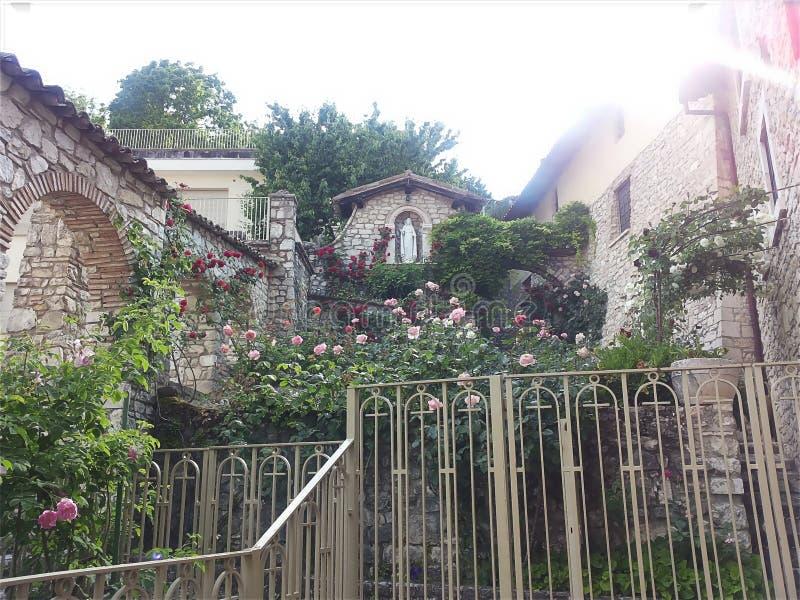 Cascia Umbria, Italien royaltyfri fotografi