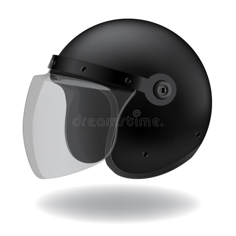 Casco illustrazione di stock