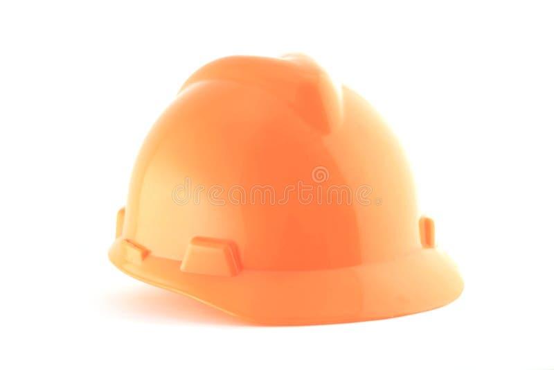 Download Casco Anaranjado Aislado En Blanco Foto de archivo - Imagen de casco, peligro: 41920382