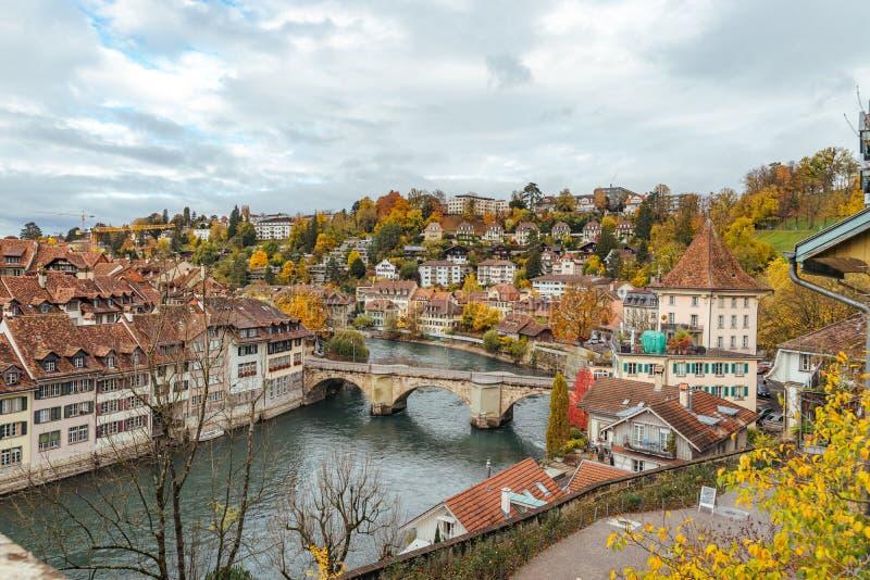 Casco antiguo de Berna foto de archivo