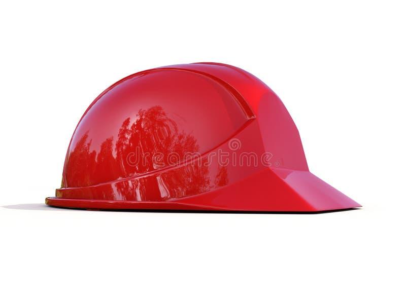 Download Casco de seguridad rojo stock de ilustración. Ilustración de vivienda - 41921735