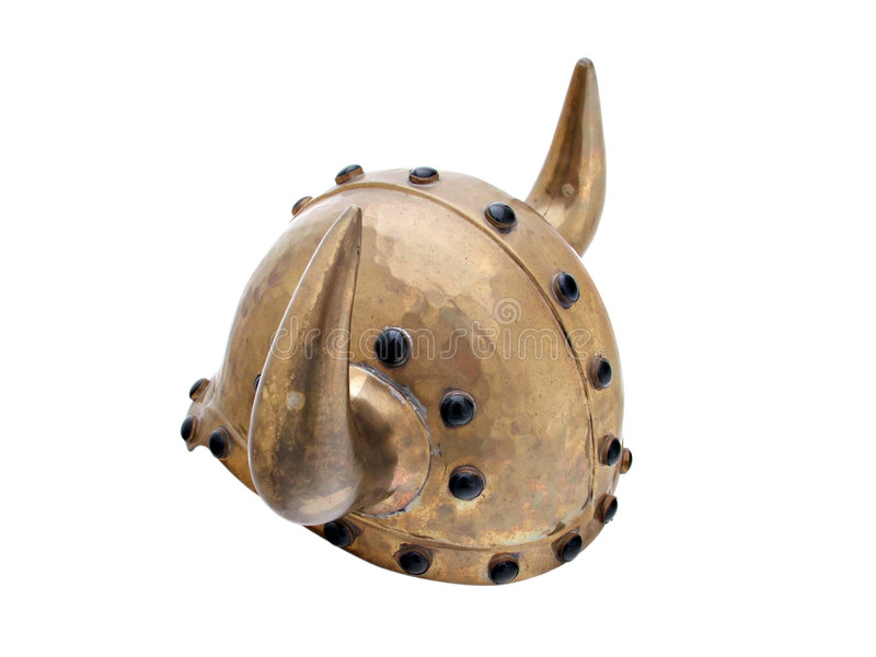 Casco de Vikingo fotos de archivo
