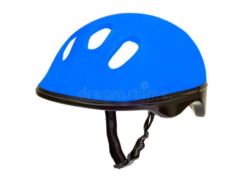 Casco della bicicletta fotografia stock