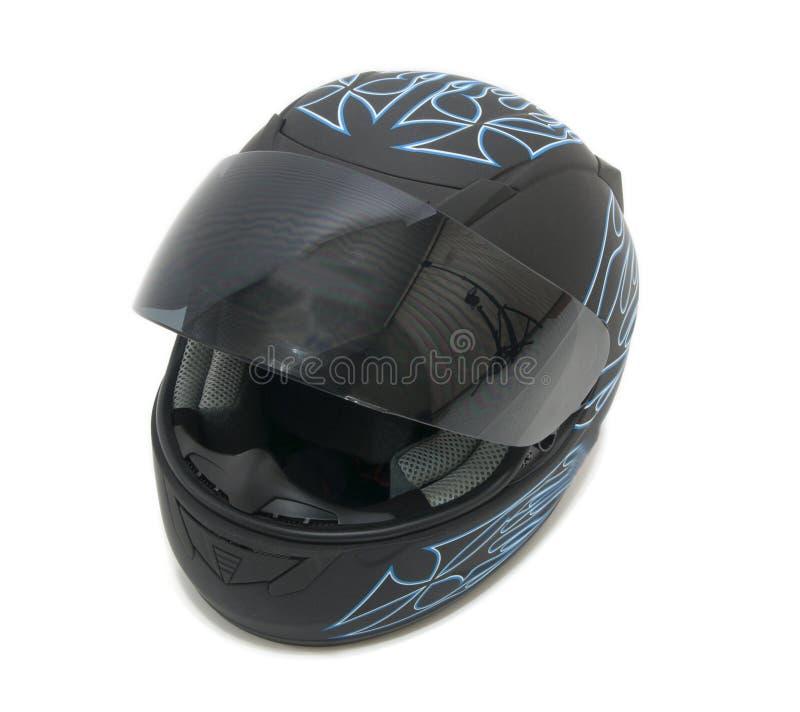 Casco della motocicletta fotografie stock libere da diritti