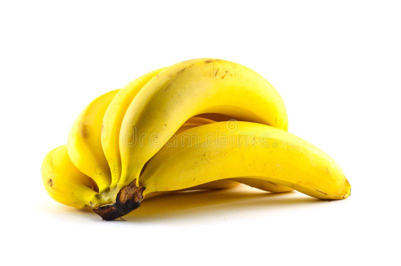 Casco di banane fotografia stock libera da diritti