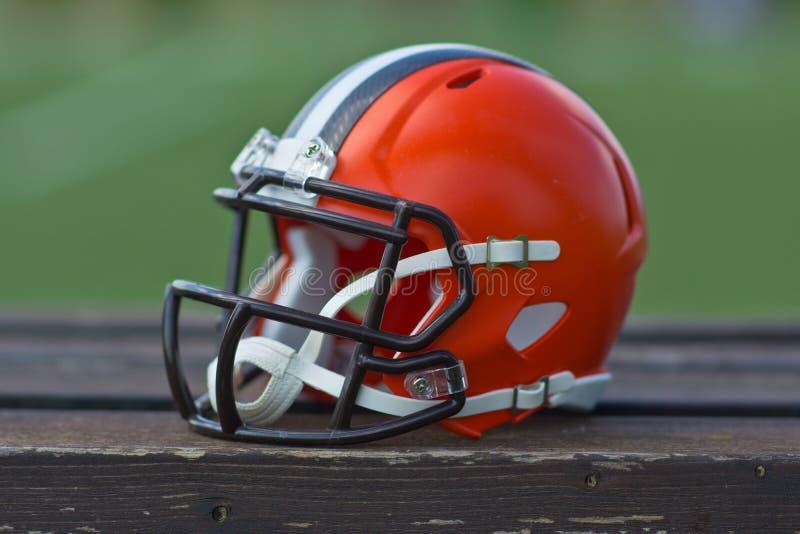 Casco di football americano immagini stock