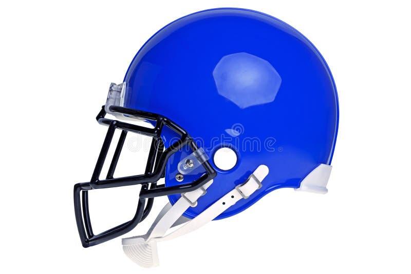 Casco di football americano tagliato fotografia stock