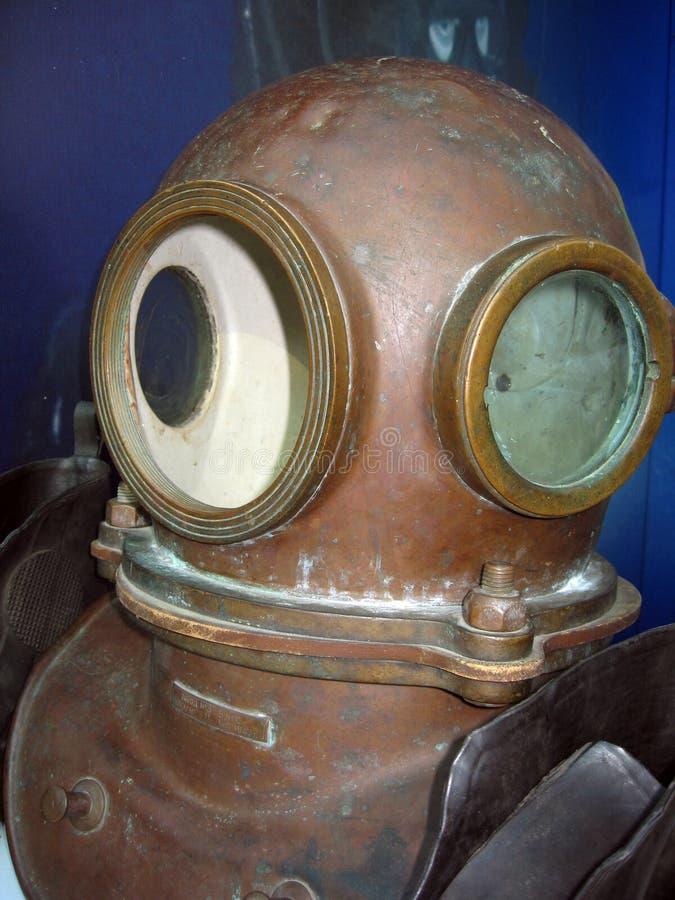 Casco di immersione subacquea fotografia stock libera da diritti