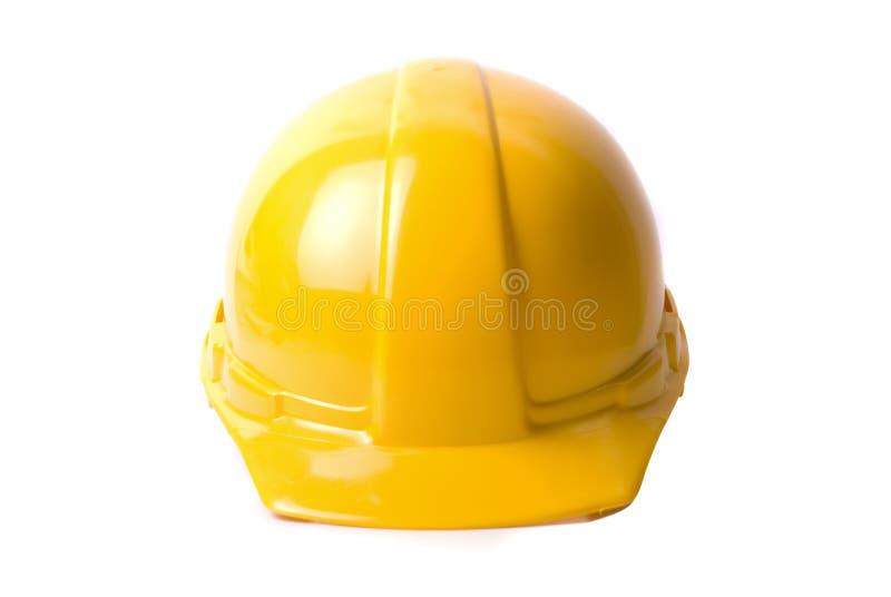 Casco giallo immagini stock