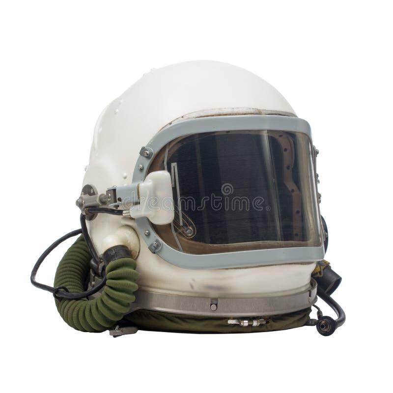 Casco militare pilota fotografia stock