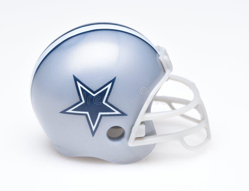 Casco per Dallas Cowboys immagine stock libera da diritti