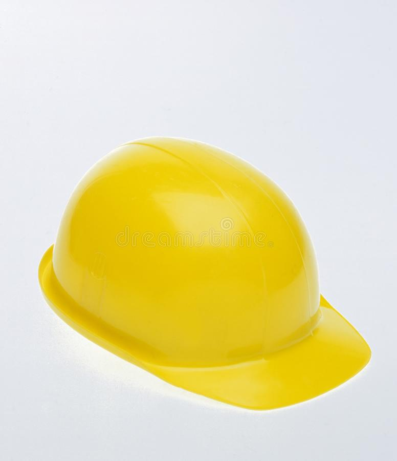 Casco protettivo giallo immagini stock libere da diritti