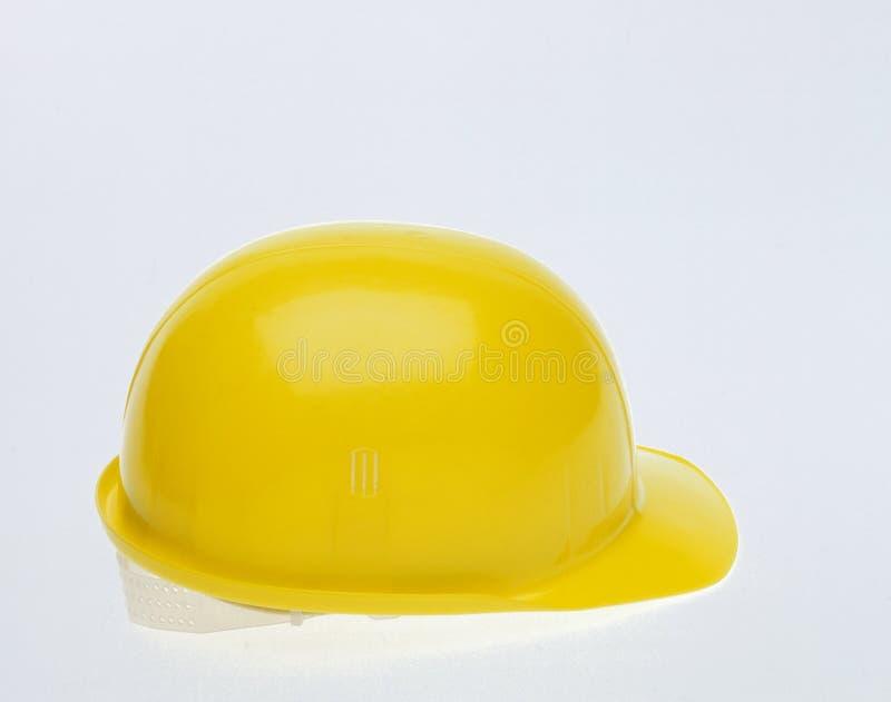 Casco protettivo giallo fotografie stock