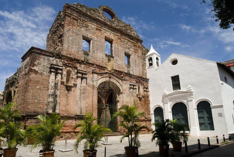 Casco Viejo royalty-vrije stock fotografie