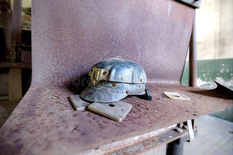 Casco viejo del ` s del minero fotos de archivo libres de regalías