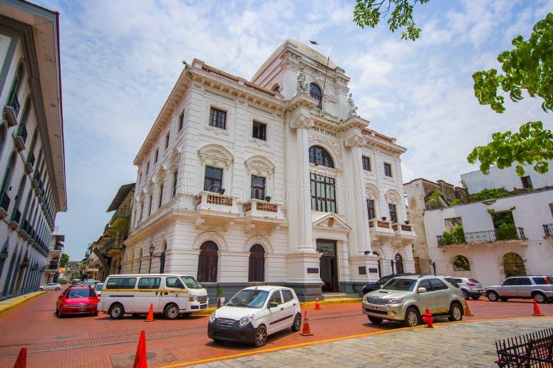 Casco Viejo (espagnol pour le vieux quart), également connu photographie stock