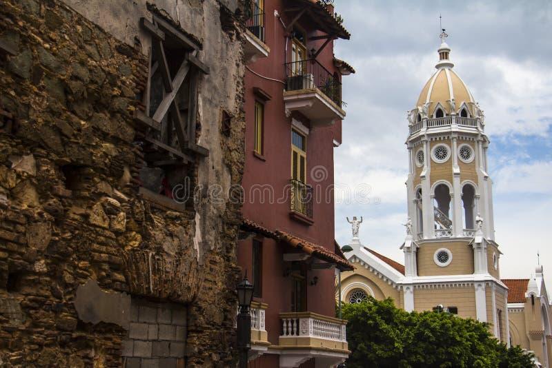 Casco Viejo na Cidade do Panamá imagens de stock royalty free