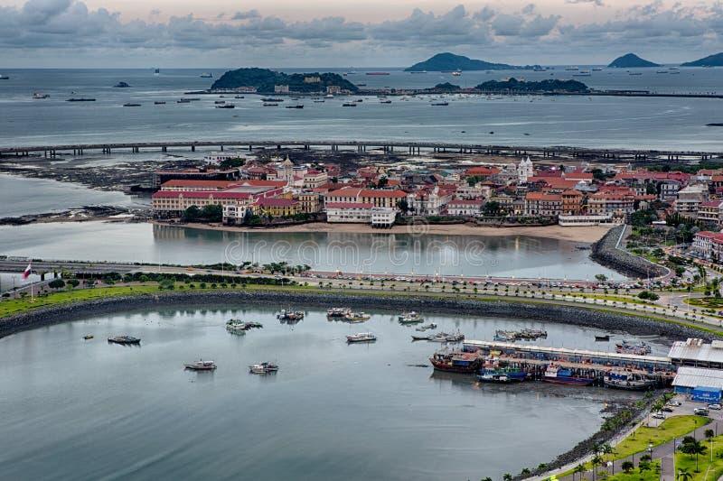 Casco Viejo in Panama royalty-vrije stock foto's