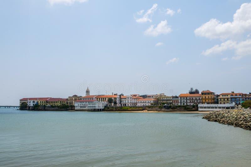 Casco Viejo Panama City - old town district - royalty free stock photos
