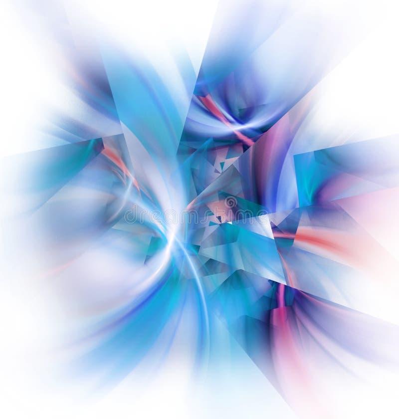 Cascos del fractal stock de ilustración