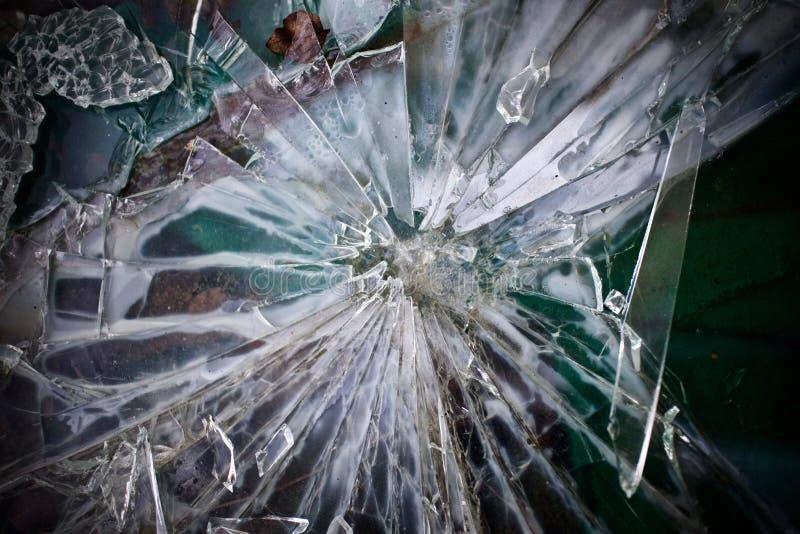 Cascos del vidrio verde imagen de archivo libre de regalías