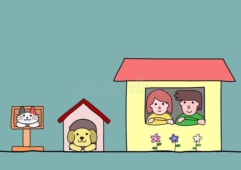 case royalty illustrazione gratis