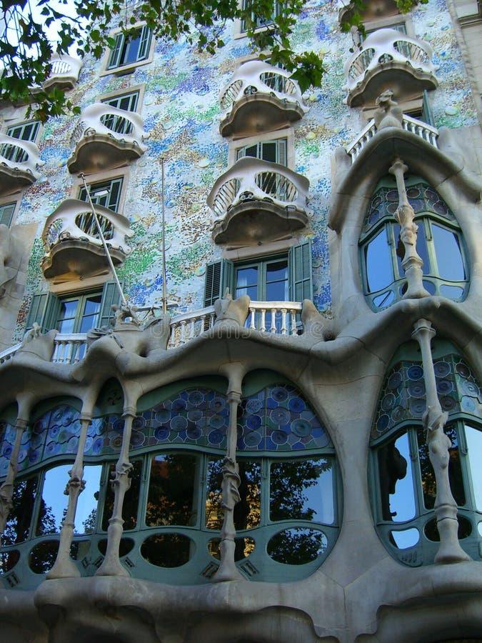 Case Batllo, Barcellona fotografie stock