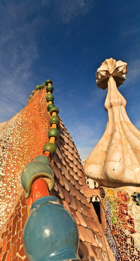 Case Battlo, Barcellona fotografie stock