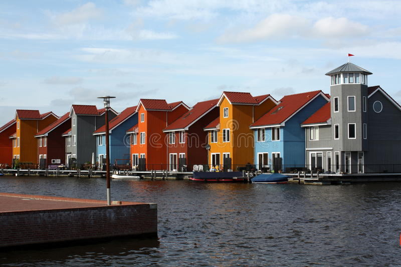 Case colorate immagini stock libere da diritti