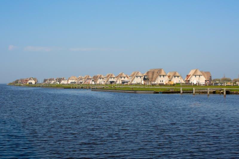 Case delle vacanze olandesi fotografia stock libera da diritti