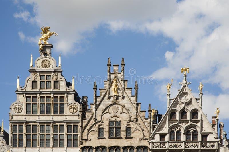 Case di cooperativa di Anversa immagini stock