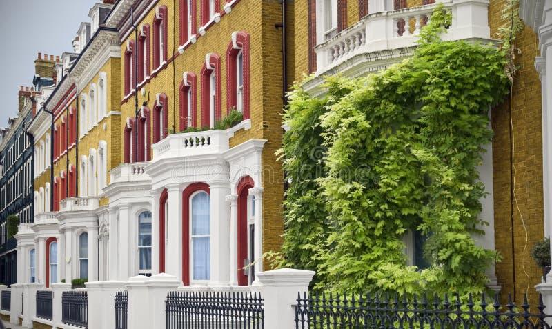 case eleganti Londra immagini stock libere da diritti