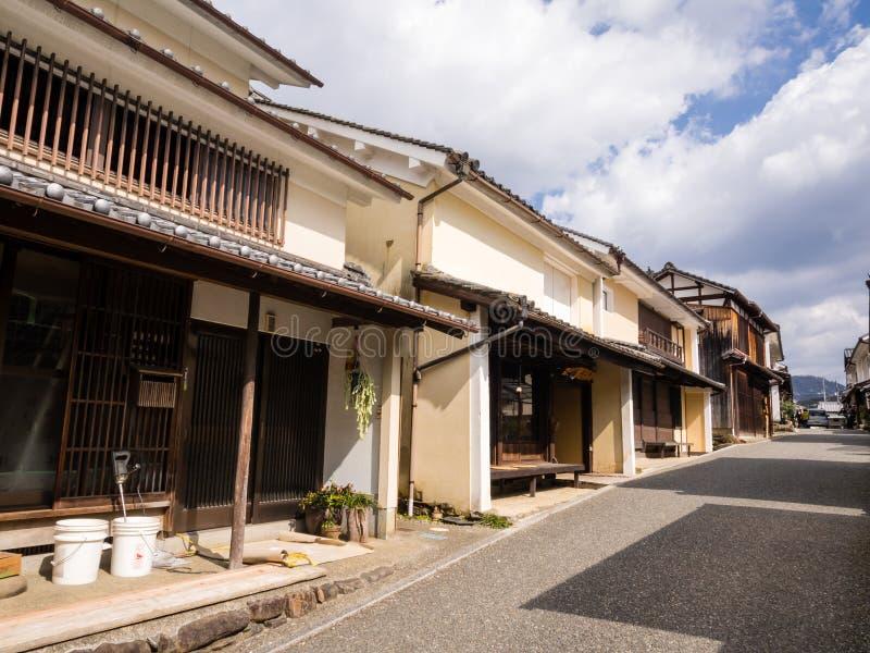 case giapponesi tradizionali immagine editoriale