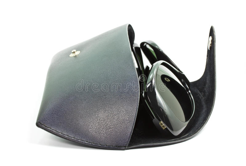 Download Case for the glasses. stock image. Image of horizontal - 24835683