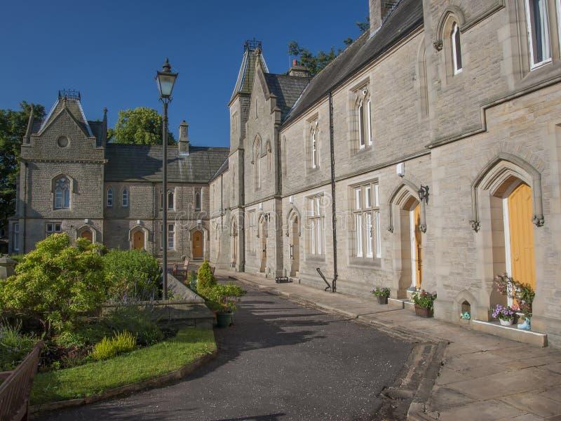 Case gotiche neo a Halifax immagine stock libera da diritti