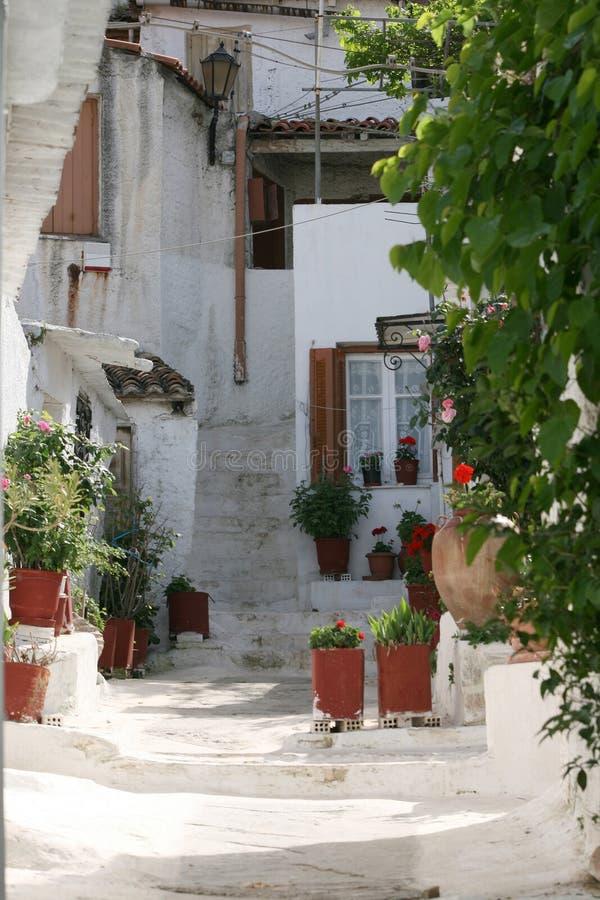 Case greche tradizionali immagine stock immagine di for Case tradizionali