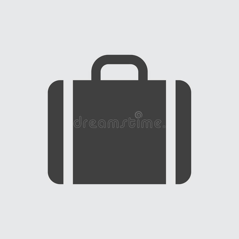 Case icon illustration royalty free illustration