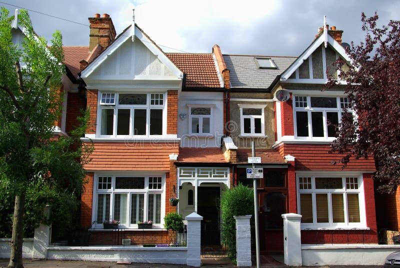 Case inglesi fotografia stock immagine di piano comunit for Case inglesi foto