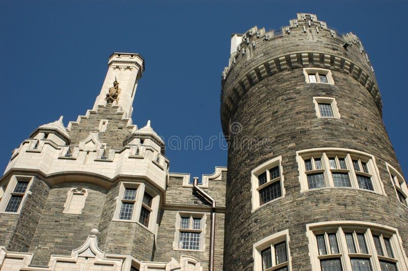 Case Loma - Castello a Toronto fotografie stock