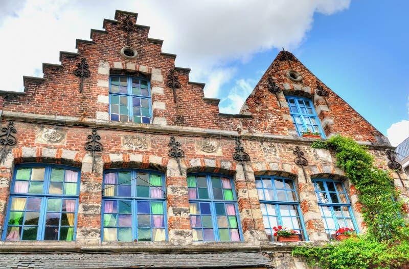 Case medievali fotografia stock libera da diritti