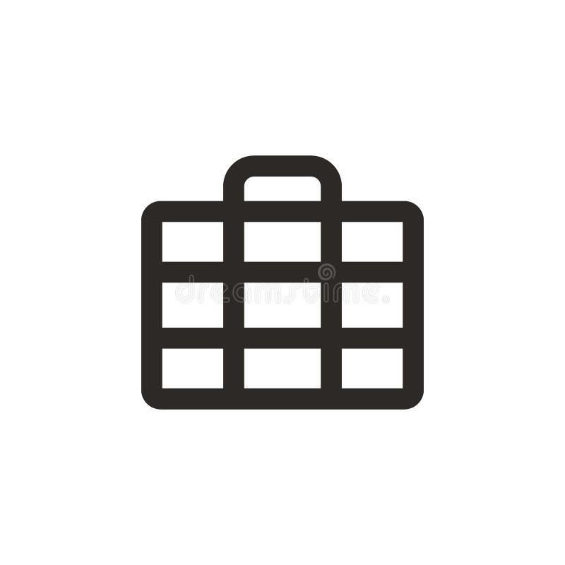 Case, million, money vector icon. Simple element illustration from UI concept. Case, million, money vector icon. Finance concept vector illustration